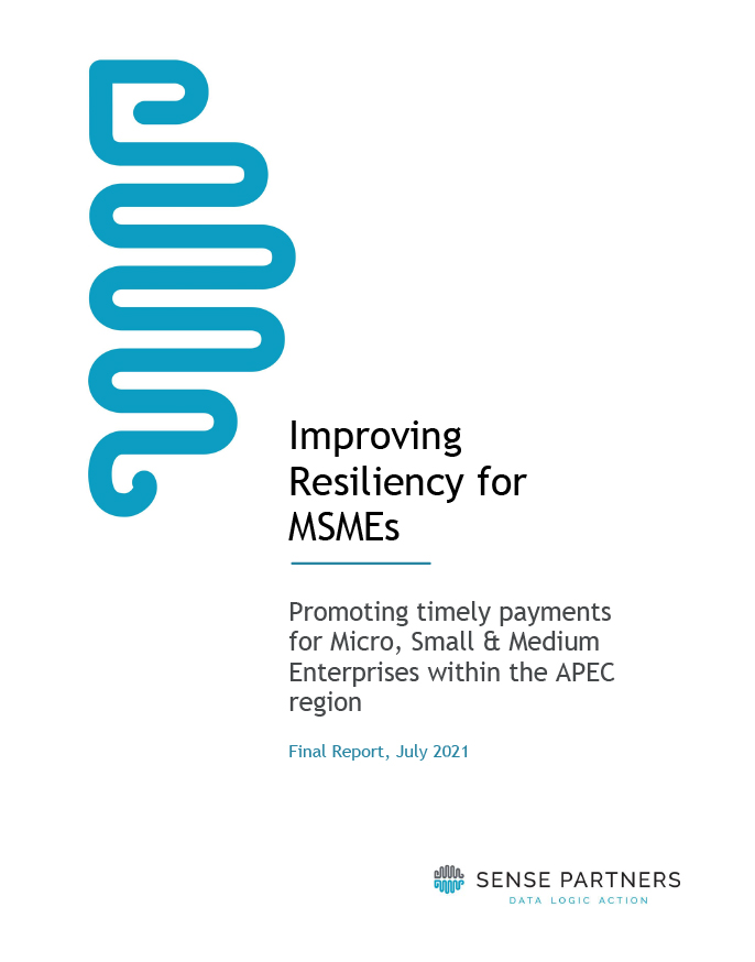 Improving Resiliency for MSMEs: Promoting Timely Payments for Micro, Small & Medium Enterprises within the APEC Region